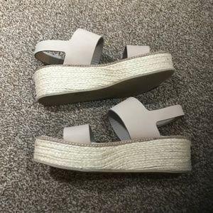 43f651454d Vince Shoes | Janet Platform Wedge Espadrille Sandals | Poshmark